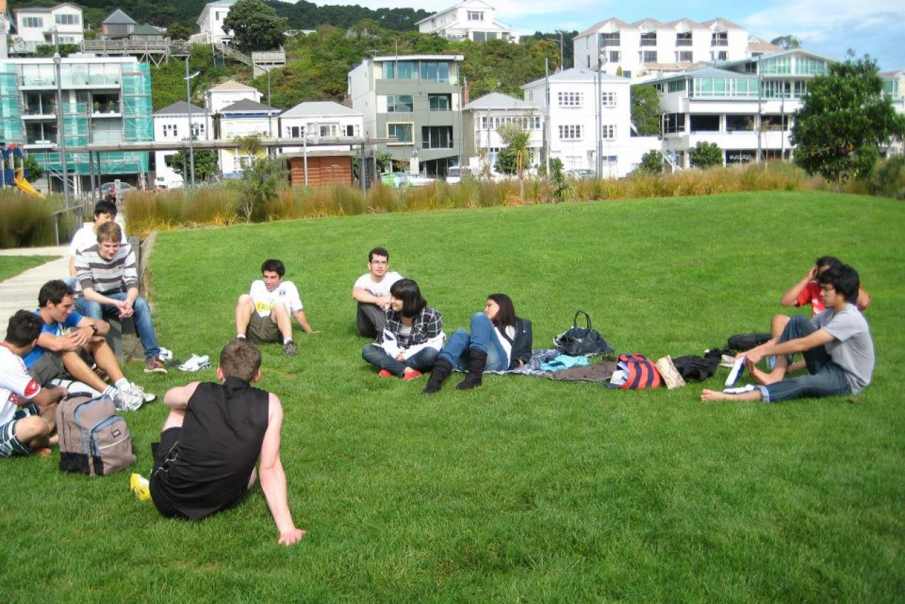 Etudiants Campbelle Institute - Wellington